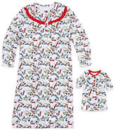 Asstd National Brand Long Sleeve Nightgown & Doll Gown