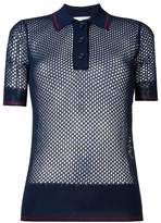 Etoile Isabel Marant mesh polo shirt