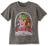 DC Comics Marvel Baby Boys' Avengers Activewear Tee - Gray