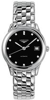 Longines Flagship L47744576 36mm Silver Steel Bracelet & Case Synthetic Sapphire Men's Watch