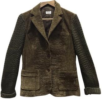 Philosophy di Alberta Ferretti Green Cotton Jacket for Women