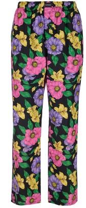 Balenciaga Floral Printed Pants