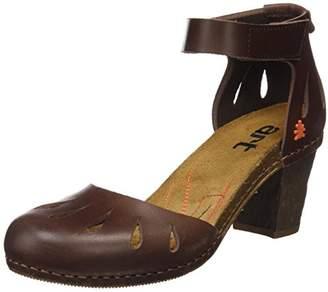 Art Women's 0144 Mojave I meet Ankle Strap Sandals, Brown, (42 EU)