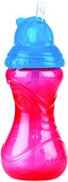 Nuby Clik-It Flip-it Sipper, 12-Ounce (350ml), Blue/Green/Red