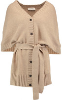 Pringle Belted Wool And Cashmere-Blend Cardigan