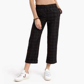 Suncoo Jay Checked Trousers