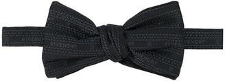 Givenchy Logo-Jacquard Bow Tie