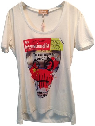 Vivienne Westwood White Cotton T-shirts