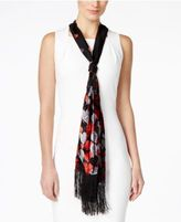 INC International Concepts Ombré Velvet Hearts Skinny Scarf, Only at Macy's