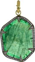 SYLVA & CIE Emerald Slice Pendant