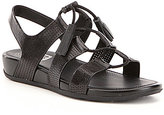 FitFlop Gladdie Perforated Leather Lace Up Slingback Ghillie Sandals