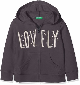 Benetton Girl's Jacket W/Hood L/S