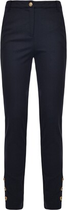 Pinko Skinny High-Waist Trousers