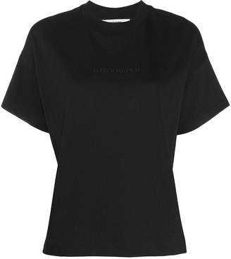 Daily Paper crew-neck logo T-shirt