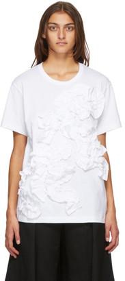 Comme des Garçons Comme des Garçons White Ruffle T-Shirt
