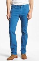 Z Zegna Slim Fit Jeans Washed Cobalt 38