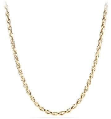 "David Yurman Men's 18k Box Chain Necklace, 26"""
