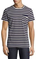 A.P.C. Striped Construction Tee