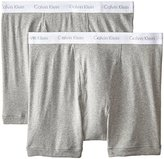 Calvin Klein Men's Big-Tall 2 Pack Cotton Classics Boxer Brief