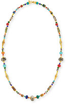 Jose & Maria Barrera Long Beaded Necklace