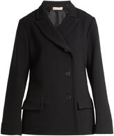 Marni Notch-lapel double-crepe jacket
