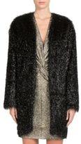 Lanvin Faux-Fur Coat
