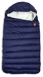 Save The Duck Unisex Hooded Quilted Baby Sack - Baby