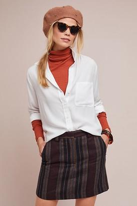 Cloth & Stone Aimee High-Low Shirt, White