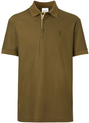 Burberry Monogram Motif Polo Shirt