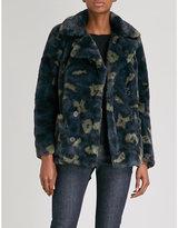 Zadig & Voltaire Miles faux-fur coat