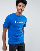 Columbia Basic Logo T-shirt In Blue