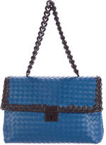 Bottega Veneta Intrecciato Leather Chain Bag