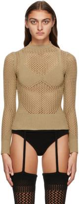 Isa Boulder Brown Knit Honeymoon Sweater