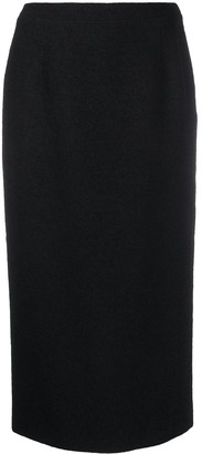Alessandra Rich High-Waisted Fitted Skirt