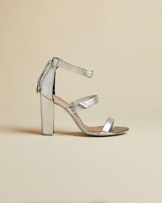 Ted Baker Leather Block Heel Sandals