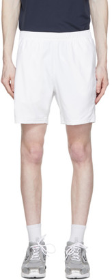 Nike White Dri-FIT 7 Tennis Shorts