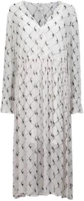 Baum und Pferdgarten Cream and Black Boomerang Axelle Dress - UK 12