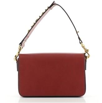 Christian Dior J'Adior Adjustable Strap Flap Bag Leather Small