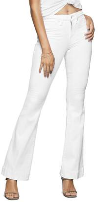 Good American Good Flare Jeans in White001