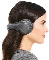 URBAN RESEARCH Quilted Wrap-Around Earmuffs with Faux-Fur Lining