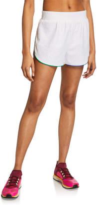 Terez Pinhole Mesh Active Shorts