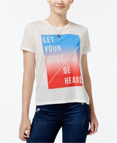 Mighty Fine Juniors' Be Heard Graphic T-Shirt