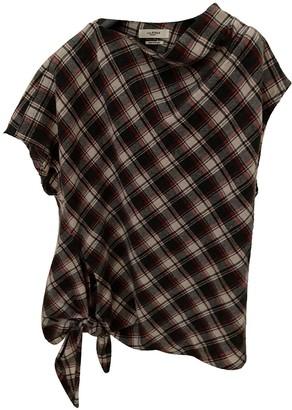Etoile Isabel Marant Grey Wool Top for Women