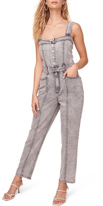 ASTR the Label In Depth Denim Jumpsuit