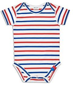 Kule Unisex Cotton Striped Bodysuit - Baby