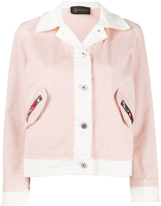 Mr & Mrs Italy Patch Pocket Cropped Jacket