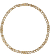 Sydney Evan Small Pave Link Necklace