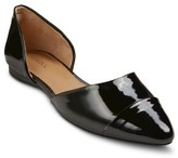 Merona Women's Bernice Taper Toe Two Piece Flats