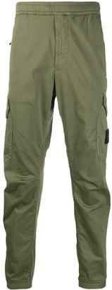 Stone Island Cargo Logo Patch Trousers