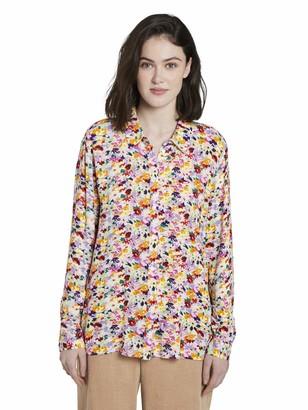 Tom Tailor Women's Floralprint Bluse T-Shirt